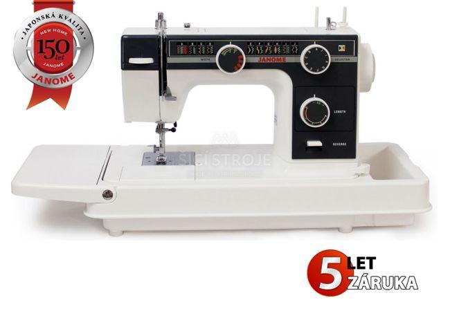 JANOME 393 - kufříkový šicí stroj