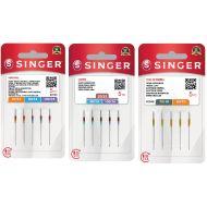 Set jehel Singer 130/705 H (universal 2020/822, stretch 2045/848, kůže 2032)