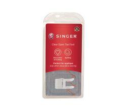 Otevřená patka pro aplikační, dekorativní šití a našívání ozdob Singer 250059603