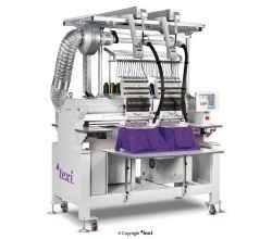 Průmyslový vyšívací stroj TEXI 1502 TS PREMIUM LC SET s čepicový rámečkem a stojanem