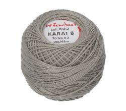 Příze Ariadna Karat 8 10 g - 0662
