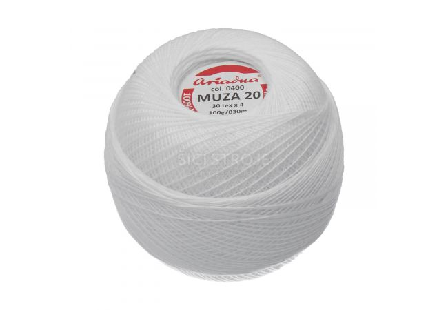 Příze Ariadna Muza 20 100 g - 0400