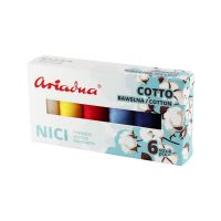 Sestava nití Cotto Sky Cotto 80/170 m - 6 barev (nebe)