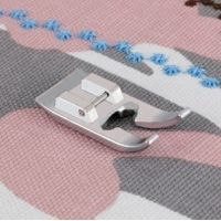 Patka pro šití ozdobných stehů pro šicí stroje do 7 mm