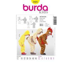 Střih Burda 2425 - Kuřátko, slepička, kohoutek