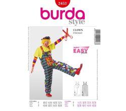 Střih Burda 2453 - Klaun