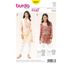 Střih Burda 6683 - Tunika