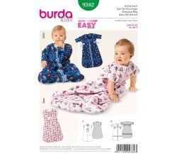 Střih Burda 9382 - Dětský spací pytel
