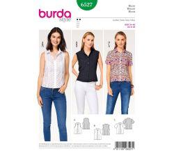 Střih Burda 6527 - Halenka, košile