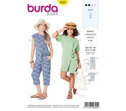 Střih Burda 9325 - Dětský overal