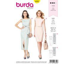Střih Burda 6320 - Pouzdrové šaty