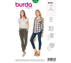 Střih Burda 6326 - Halenka, košile