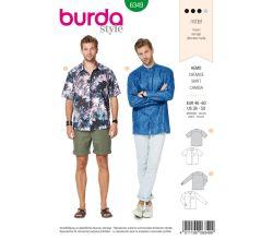 Střih Burda 6349 - Pánská košile