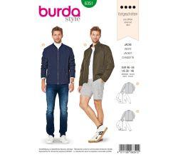 Střih Burda 6351 - Pánská bunda