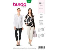 Střih Burda 6278 - Halenka, košile