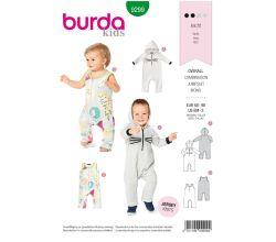 Střih Burda 9299 - Dětské bodýčko
