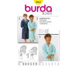 Střih Burda 2662 - Dětský župánek