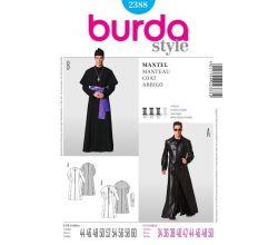 Střih Burda 2388 - Duchovní, kněz, Matrix
