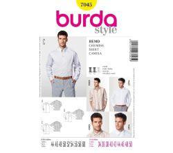 Střih Burda 7045 - Pánská košile