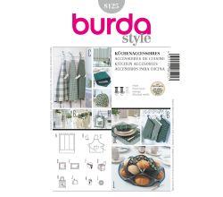 Střih Burda 8125 - Doplňky do kuchyně a jídelny