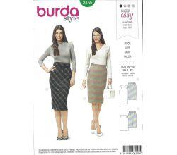 Střih Burda 8155 - Sukně