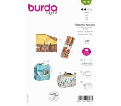 Střih Burda 9276 - Na koupelnové a bytové doplňky a dekorace