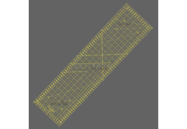Rastrové pravítko 16x60cm M1660 YW