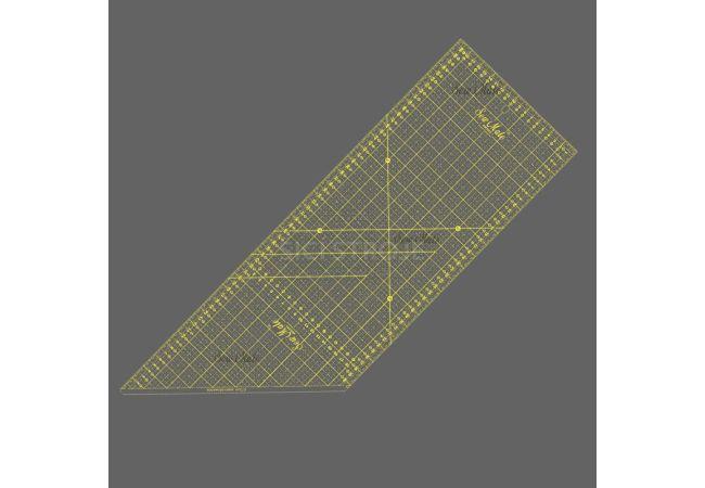 Rastrové pravítko M2060 žluté