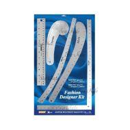 Pravítka pro designery DW-FK03 METRIC