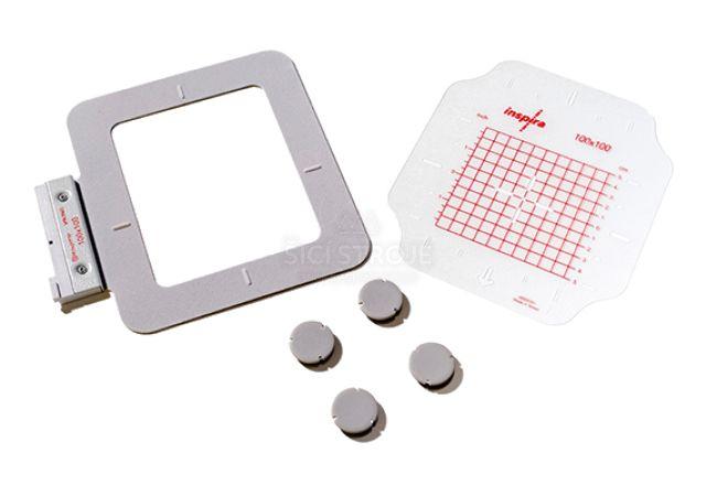 Vyšívací rámeček SMALL METAL HOOP 100x100