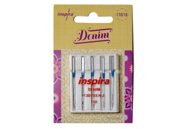 Jehly Inspira Pfaff, Husqvarna 620099996 denim - 110 - 5 ks