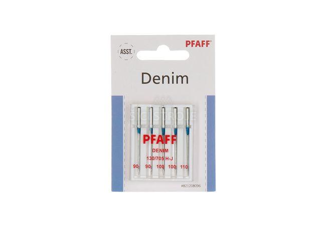 Jehly Pfaff 130/705 H-J 90-110 - Denim - 5 ks