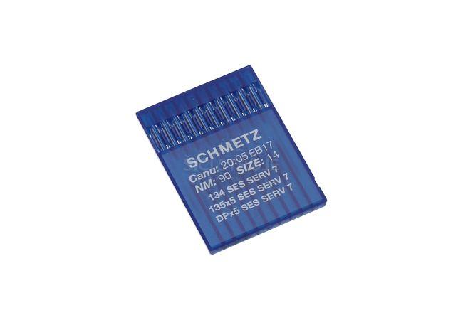 Strojové jehly pro průmyslové šicí stroje Schmetz 135X5 SES SERV 7 90