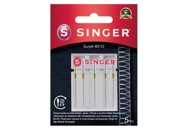 Jehly pro overlocky Singer 5x80
