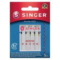 Jehly na mikrovlákno Singer 5x60-80