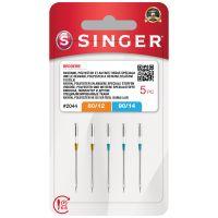 Jehly Singer 2044 - 80/12, 90/14 - 5 ks - Vyšívací
