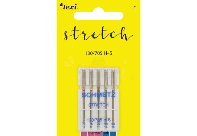 Strečové jehly TEXI STRETCH 130/705 H-S 5x75-90