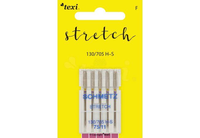 Strečové jehly TEXI STRETCH 130/705 H-S 5x75