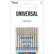 Univerzální jehly TEXI UNIVERSAL 130/705 H 10x60-110