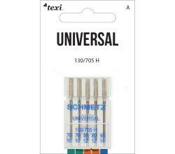 Univerzální jehly TEXI UNIVERSAL 130/705 H 5x70-90