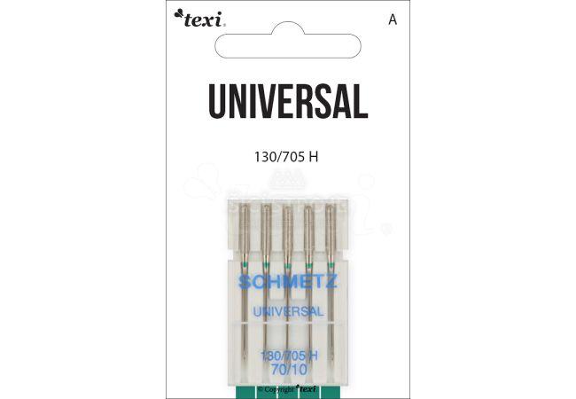 Univerzální jehly TEXI UNIVERSAL 130/705 H 5x70