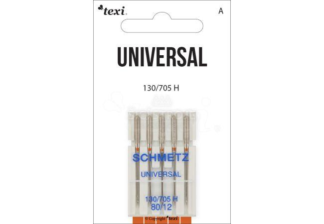 Univerzální jehly TEXI UNIVERSAL 130/705 H 5x80