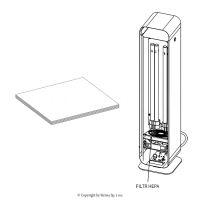 Filtry HEPA 10 do dezinfekčních lamp UV-C STERILON FLOW