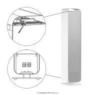 Průtoková dezinfekční lampa UV-C STERILON FLOW 72W ST