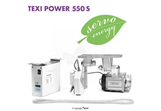 Servomotor šicí stroje TEXI POWER 550 S PREMIUM