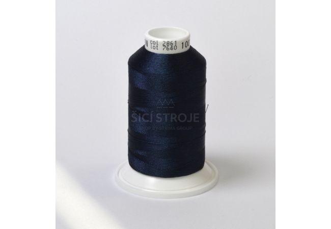 Vyšívací nit polyesterová IRIS 1000m - 35032-417 2861