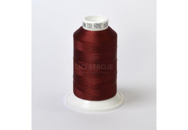 Vyšívací nit polyesterová IRIS 1000 m - 35032-417 2960