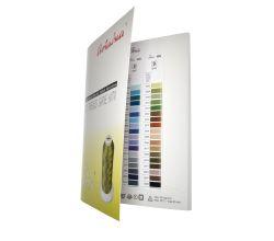 Vyšívací nit polyesterová IRIS - barevnice
