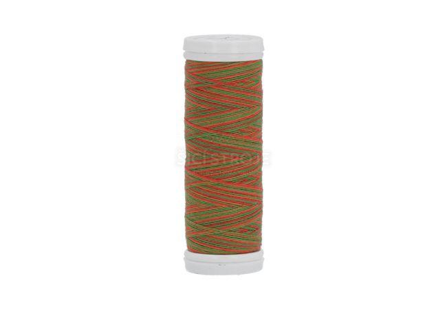 Polyesterová nit žíhaná Viga 80 multicolor 150m - 9041