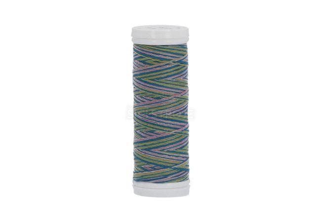 Polyesterová nit žíhaná Viga 80 multicolor 150m - 9042